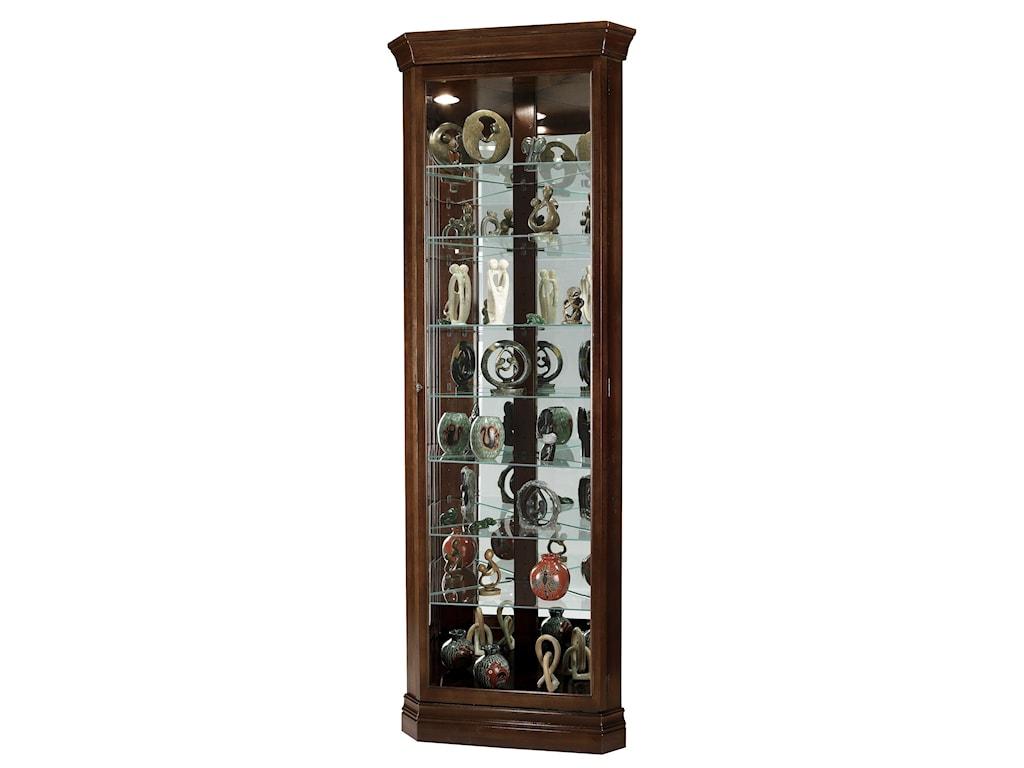 Howard Miller Corner CuriosDrake Display Cabinet