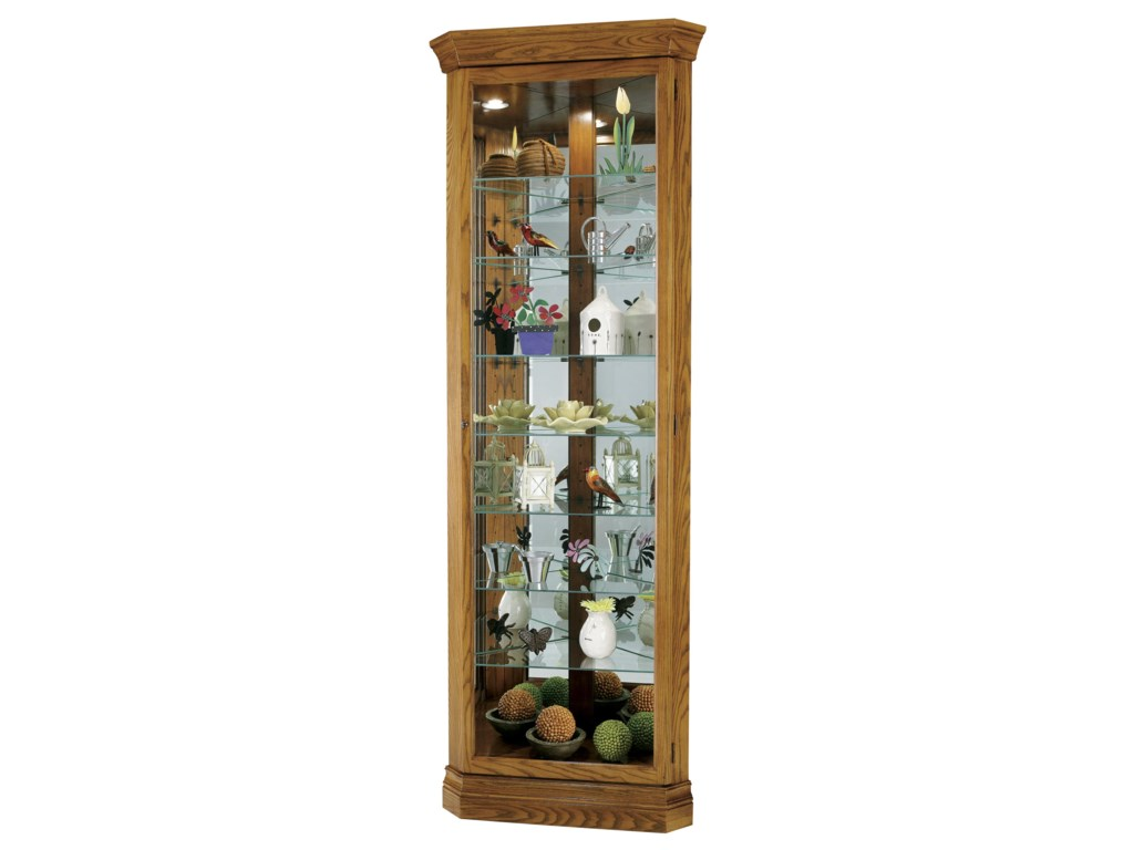 Howard Miller Corner CuriosDrake Display Cabinet