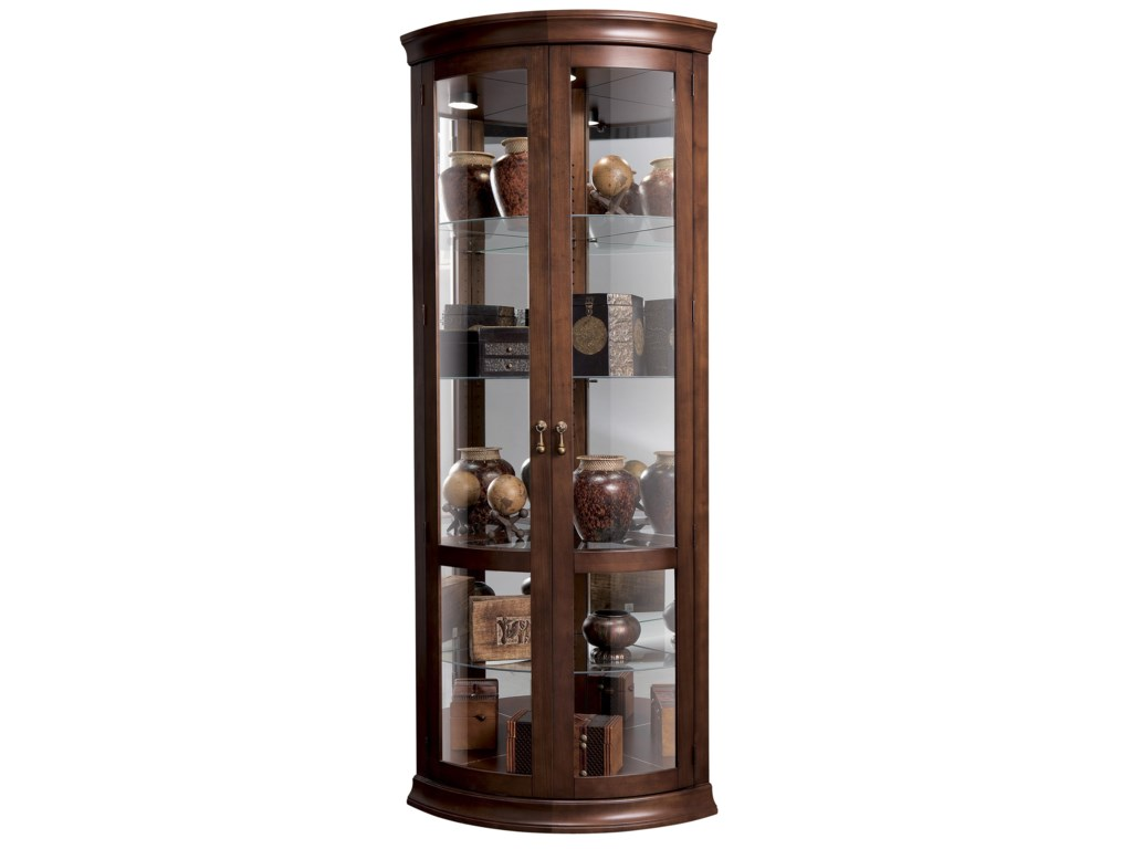 Howard Miller Corner CuriosChancellor Display Cabinet