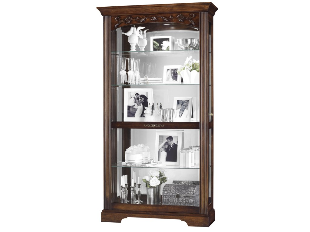 Howard Miller Furniture Trend Designs CuriosHartland Display Cabinet