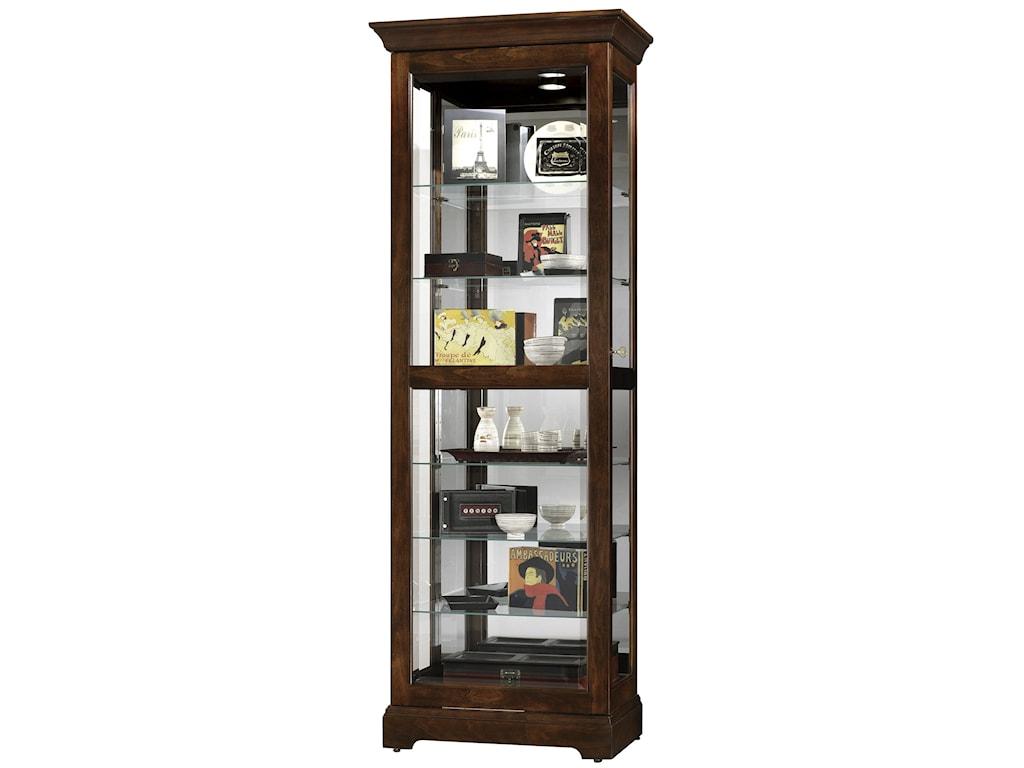 Harmony Sliding Door Curio Cabinet Morris Home Curio Cabinets