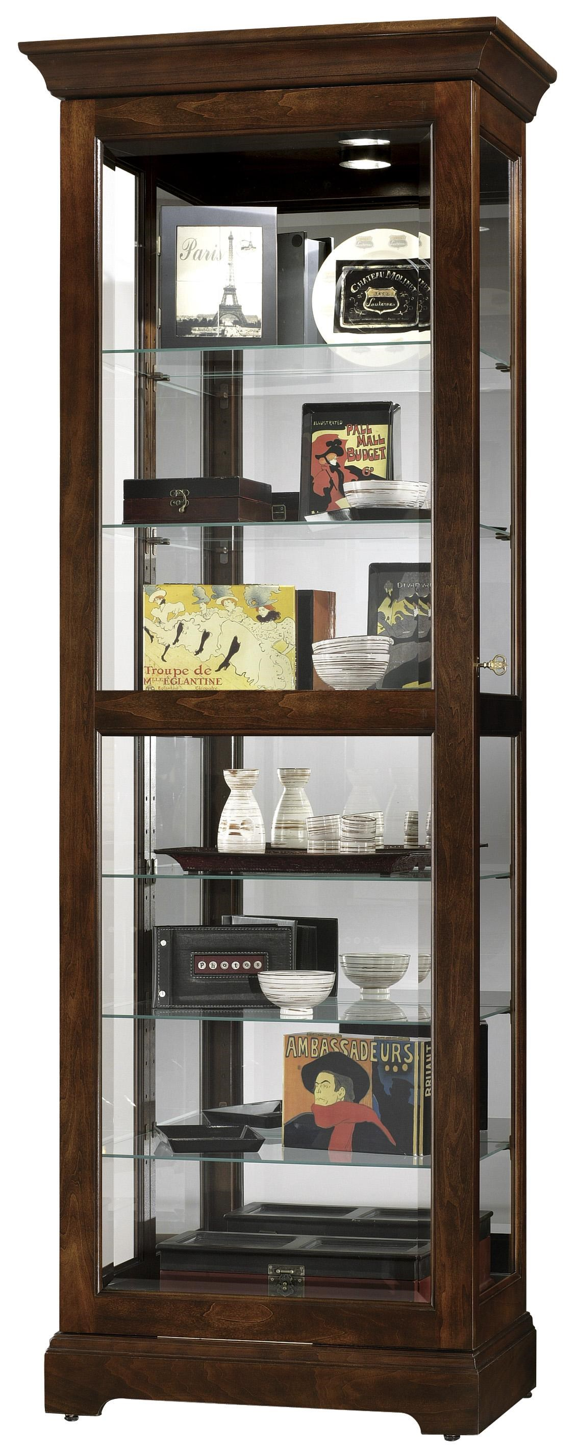 Morris Home Furnishings HarmonyHarmony Sliding Door Curio Cabinet ...