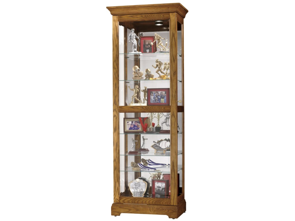 Howard Miller Furniture Trend Designs CuriosMoorland Display Cabinet