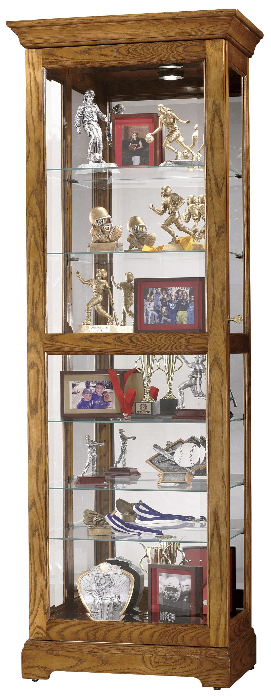 Howard Miller Furniture Trend Designs CuriosMoorland Display Cabinet ...