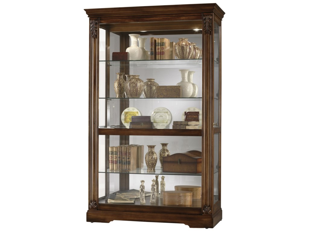 Howard Miller Furniture Trend Designs CuriosRamsdell Display Cabinet