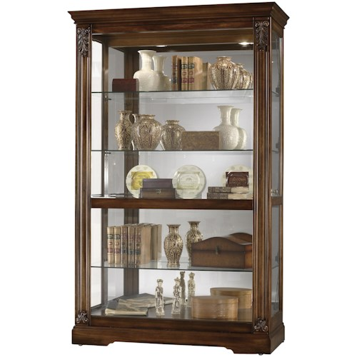 Howard Miller Furniture Trend Designs Curios Ramsdell Display Cabinet