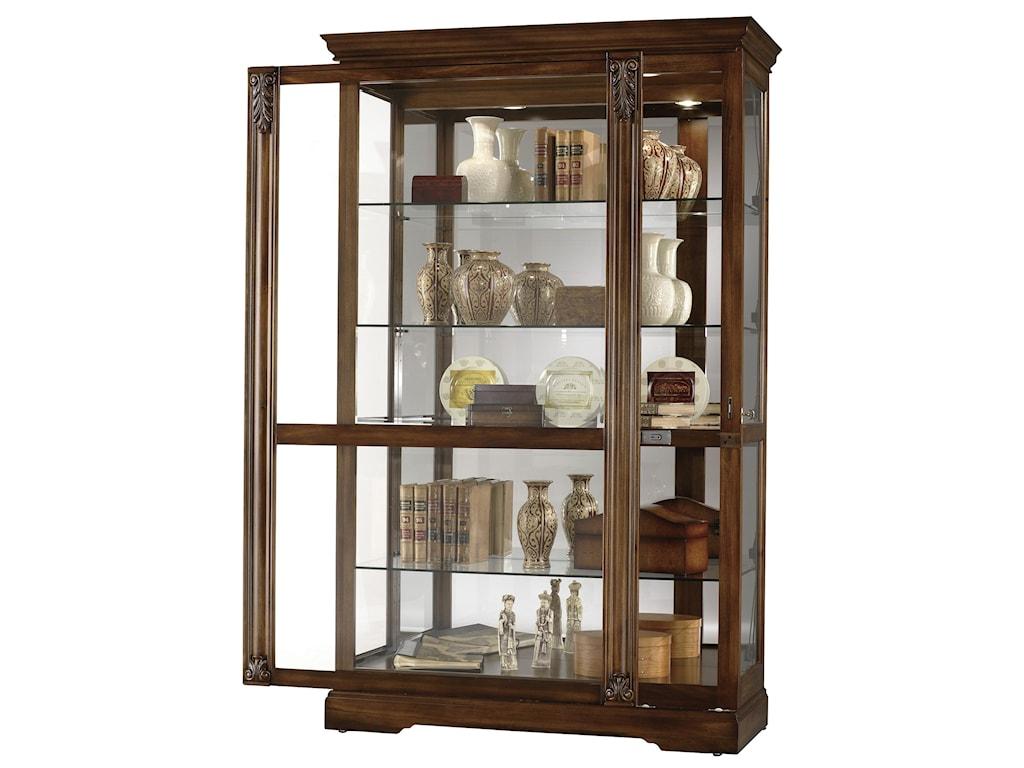 Howard Miller Furniture Trend Designs CuriosRamsdell Display Cabinet