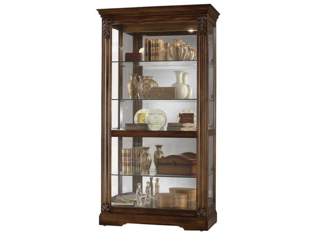 Howard Miller Furniture Trend Designs CuriosAndreus Display Cabinet