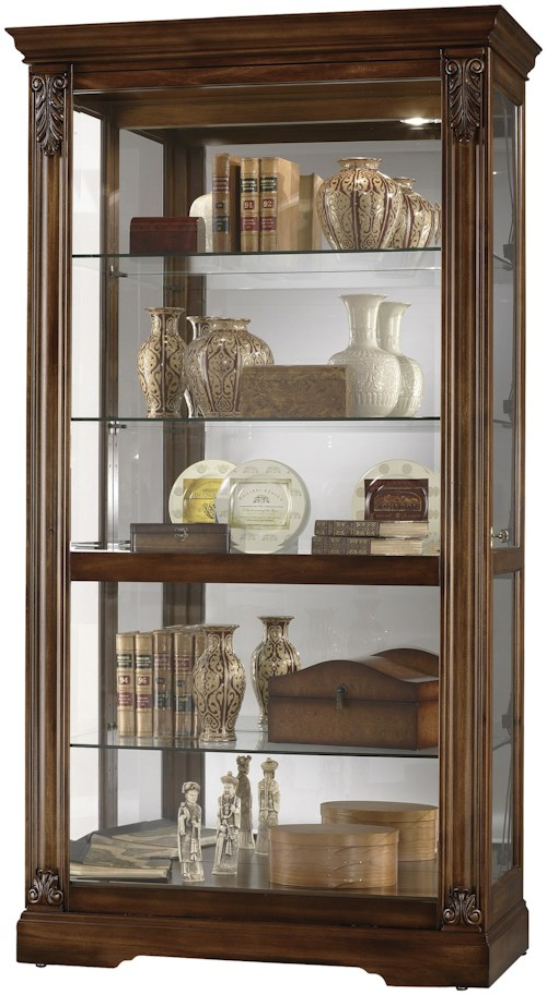 Howard Miller Furniture Trend Designs Curios Andreus Display Cabinet