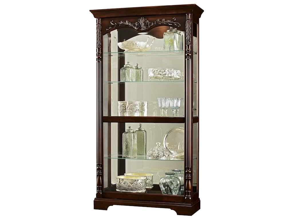 Howard Miller Furniture Trend Designs CuriosFelicia Display Cabinet