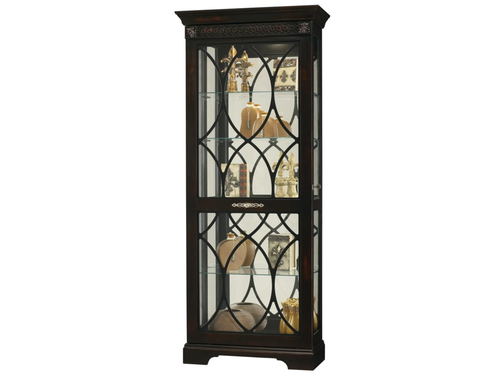 Howard Miller Furniture Trend Designs CuriosRoslyn Display Cabinet