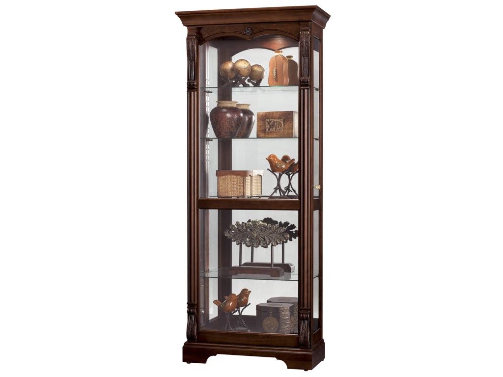 Howard Miller Furniture Trend Designs CuriosBernadette Display Cabinet