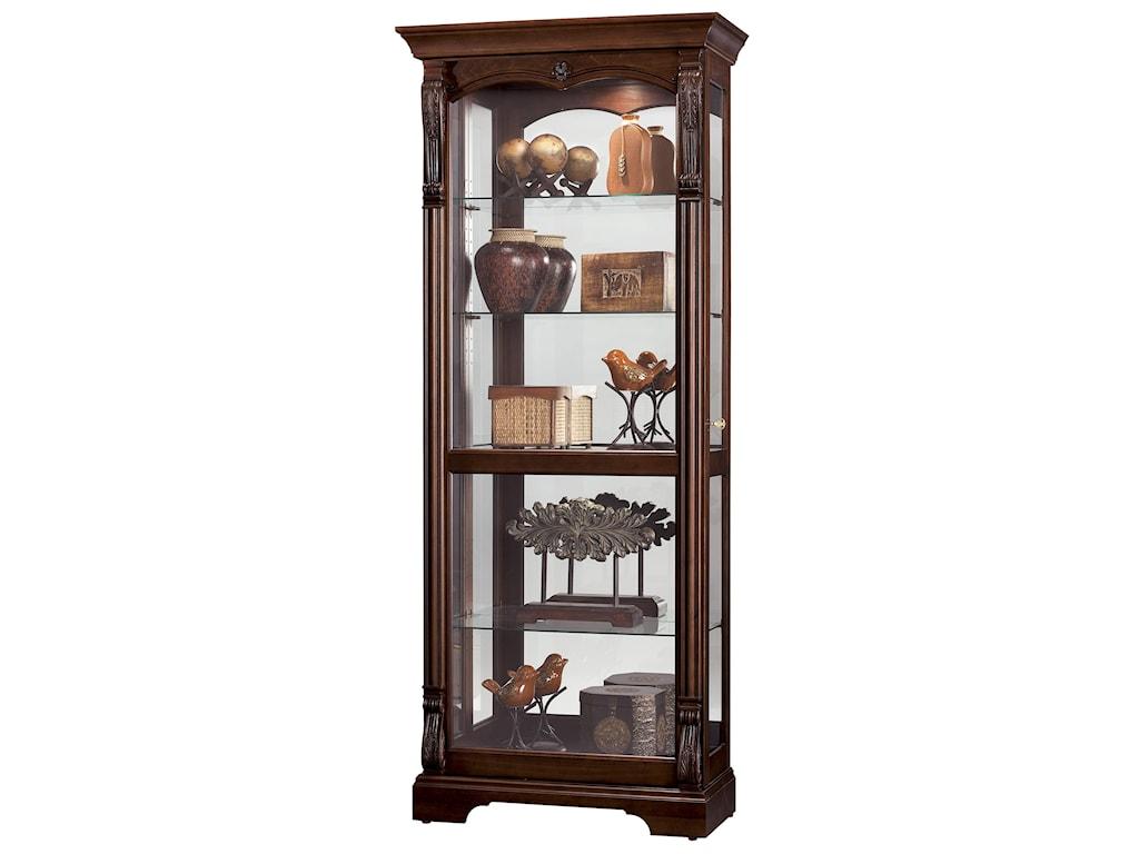 Howard Miller Furniture Trend Designs CuriosBernadette Display Cabinet