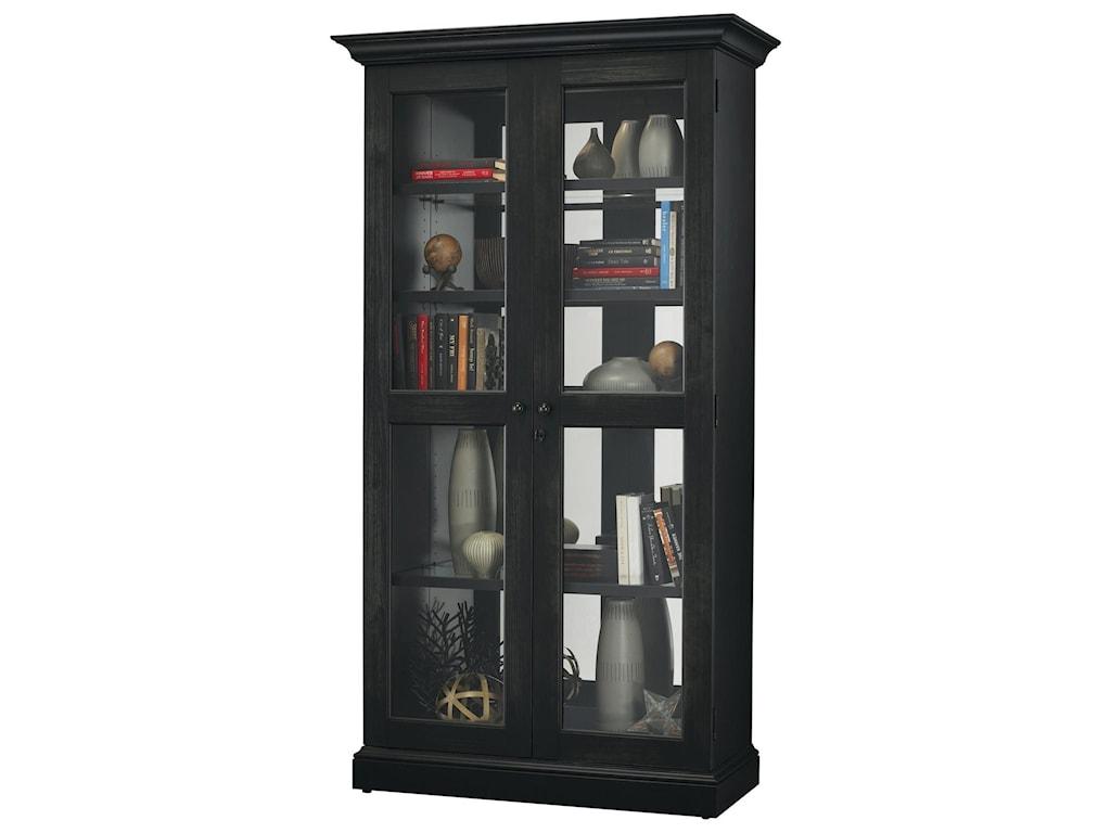 Howard miller cabinetslennon ii bookcase