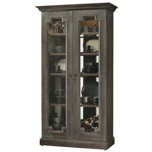 Howard Miller Cabinets Chasman Door Cabinet with Adjustable Shelves