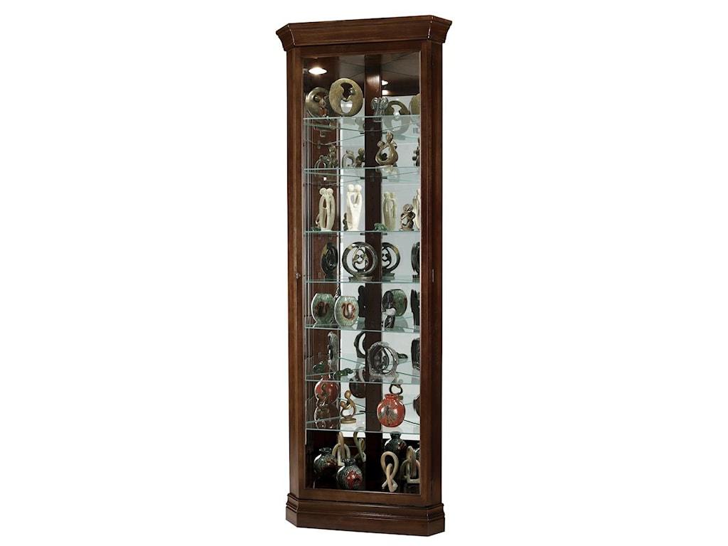 Howard Miller CabinetsDrake Curio Cabinet