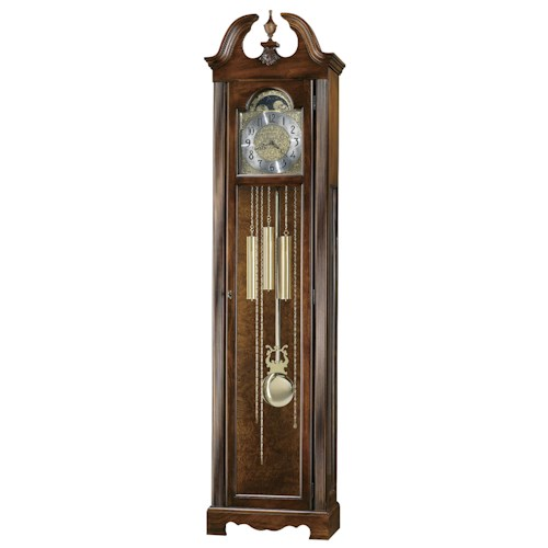 Howard Miller Clocks Princeton Grandfather Clock with Polished Brass Dial