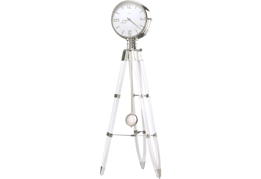 Howard Miller Clocks Chaplin Iii Tripod Floor Clock Prime