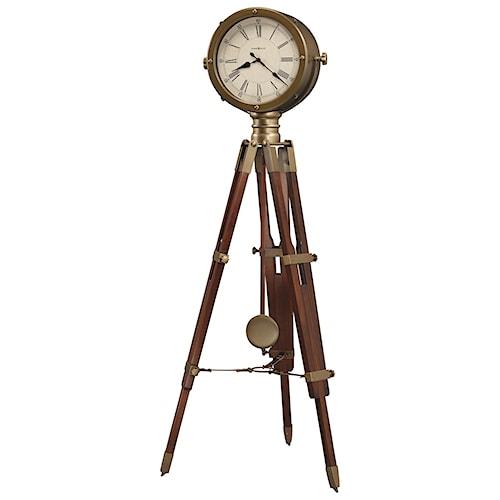Howard Miller Clocks Time Surveyor Tripod Floor Clock