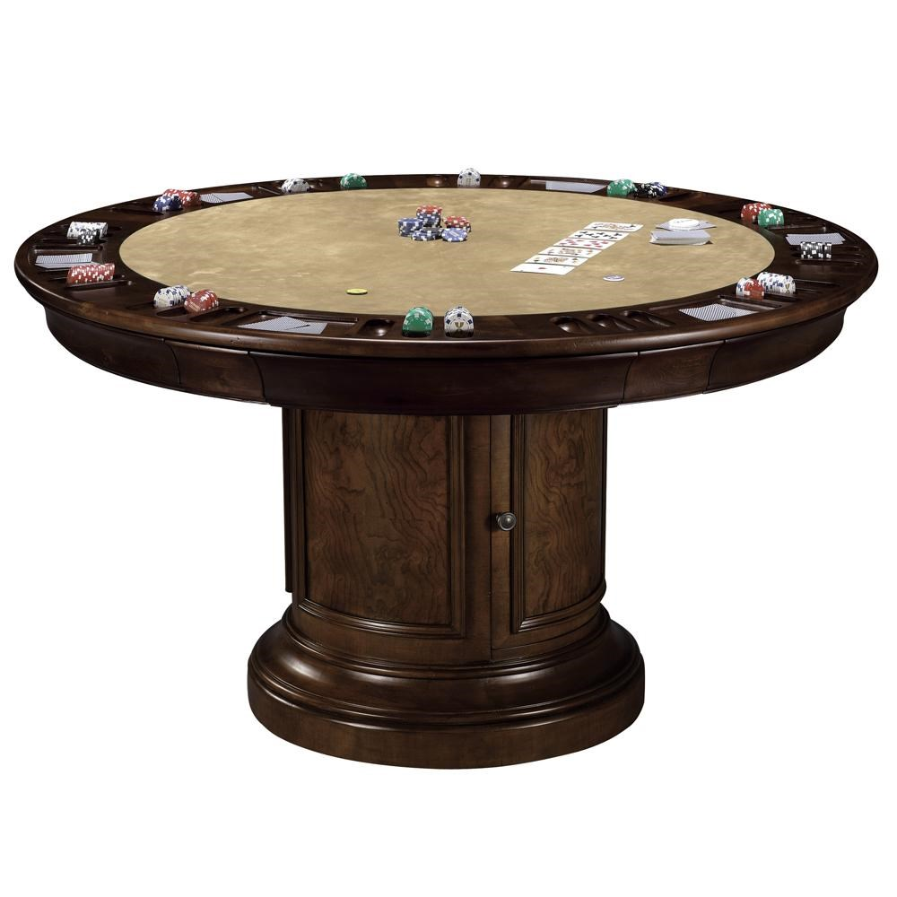 Incroyable Howard Miller Ithaca Dining U0026 Poker Game Table