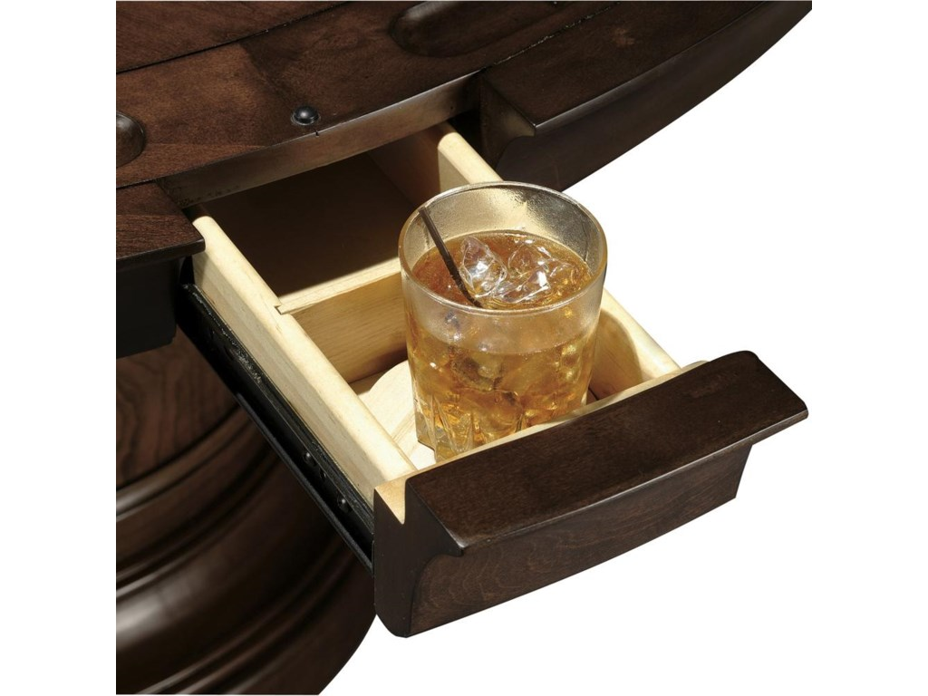 Drawer with Coaster