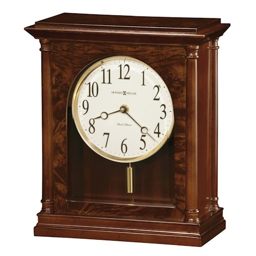 Howard Miller Table & Mantel Clocks Candice Mantel Clock