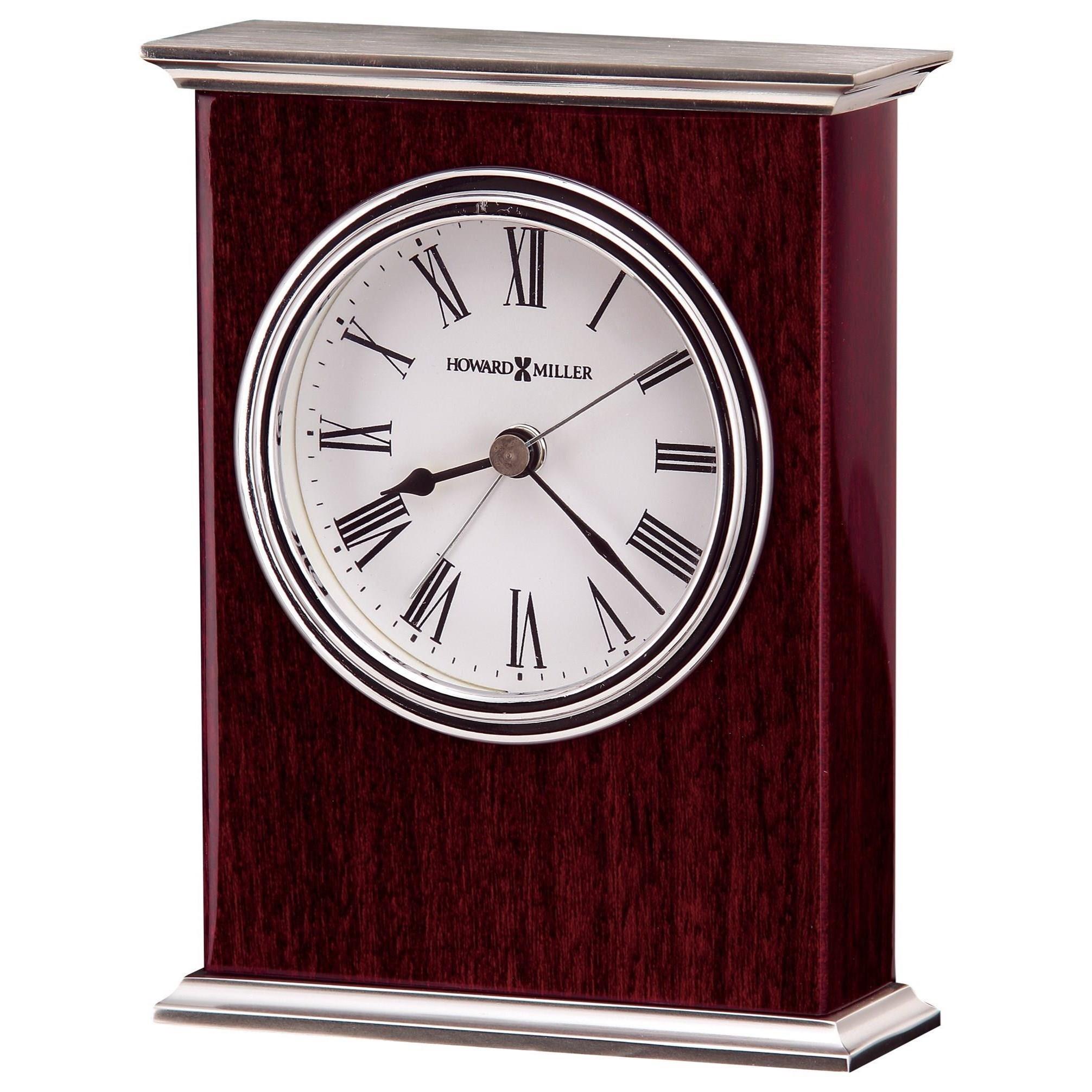 Howard Miller Table U0026 Mantel Clocks Kentwood Table Alarm Clock