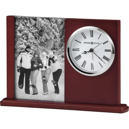 Portrait Caddy II Table Clock