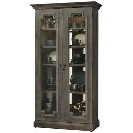 """Sanderson 44"""" Curio Cabinet"""
