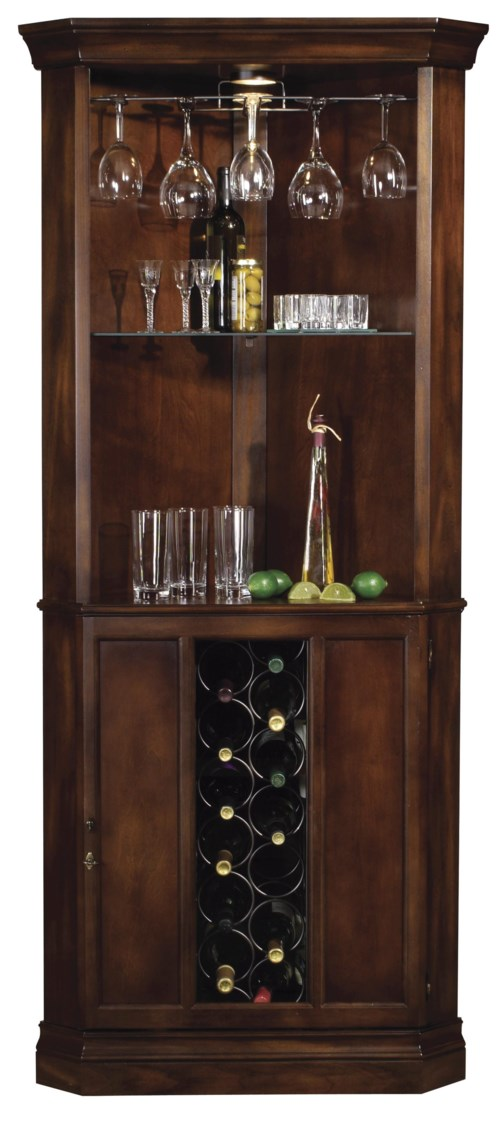 cabinet feet howard miller wine amp bar furnishings piedmont corner wine 12853
