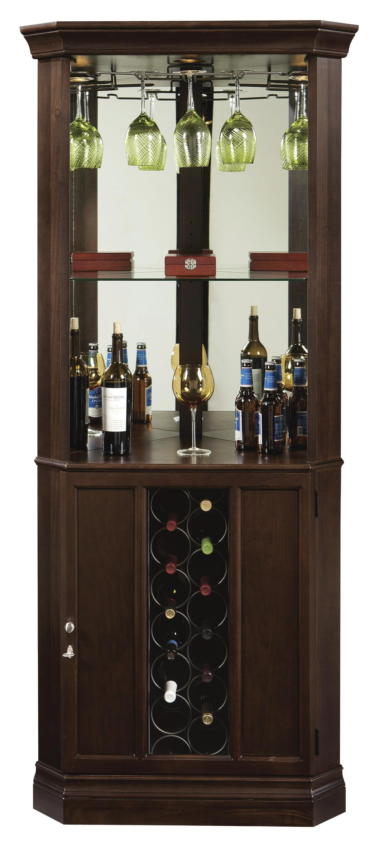 Howard Miller Wine U0026 Bar FurnishingsPiedmont Wine U0026 Bar Cabinet