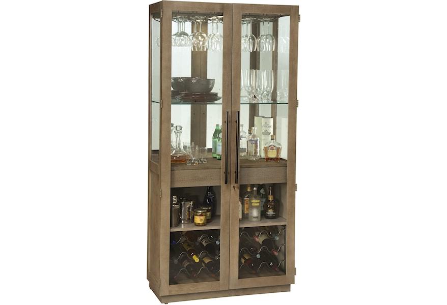 Howard Miller Wine Bar Furnishings Chaperone Wine Bar Cabinet