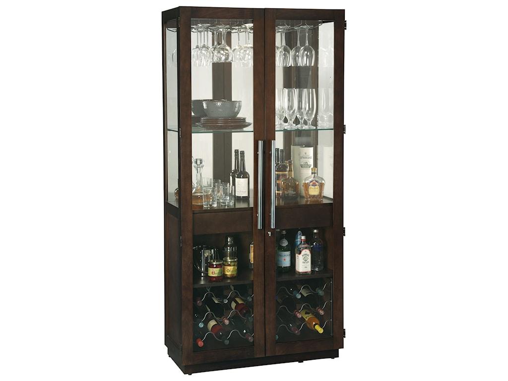 Wine Bar Furnishings Chaperone Cabinet By Howard Miller At Pilgrim Furniture City