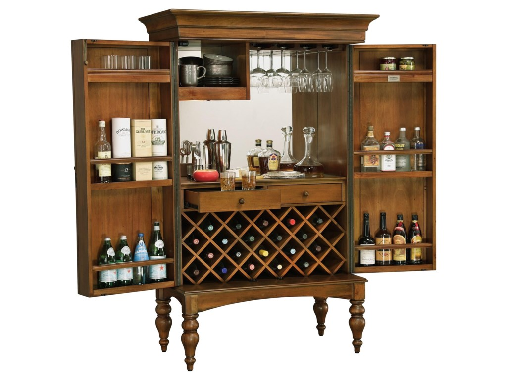 Howard Miller Wine & Bar FurnishingsToscana Wine & Bar Cabinet