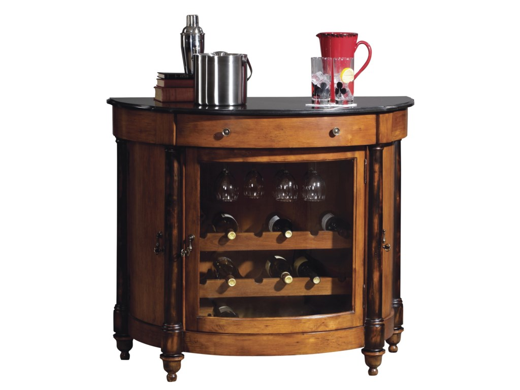 Howard Miller Wine & Bar FurnishingsMerlot Valley Wine & Bar Cabinet