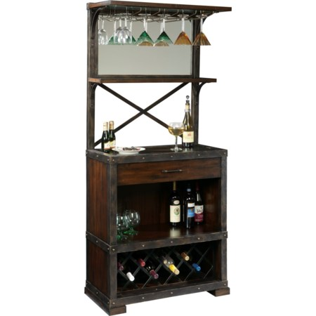 Red Mountain Wine Cabinet