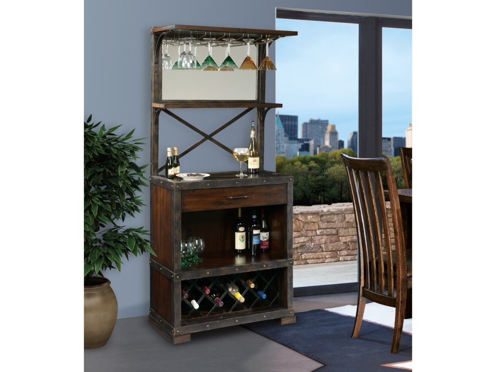 Howard Miller Wine & Bar FurnishingsRed Mountain Wine Cabinet