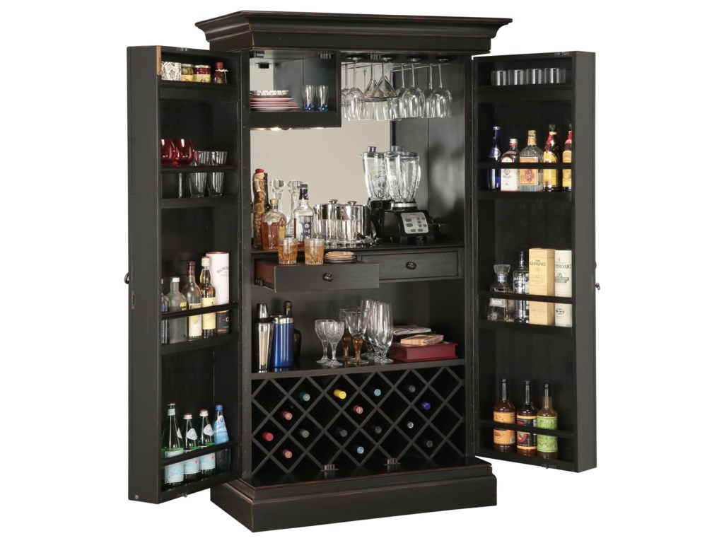 Howard Miller Wine & Bar FurnishingsSambuca Bar & Wine Cabinet