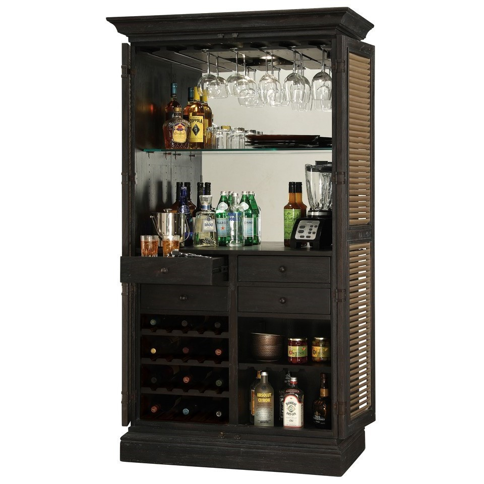 ... Howard Miller Wine U0026 Bar FurnishingsOld Mission Wine U0026 Bar Cabinet ...