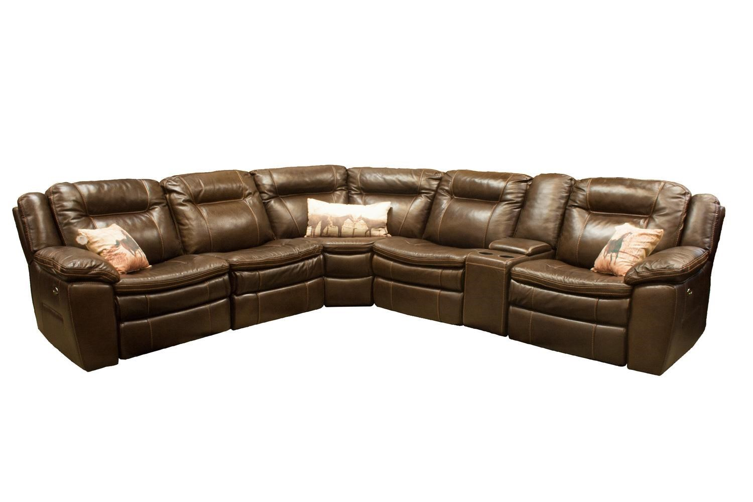 HTL 10137 Reclining Sectional  sc 1 st  Boulevard Home Furnishings : htl sectional - Sectionals, Sofas & Couches