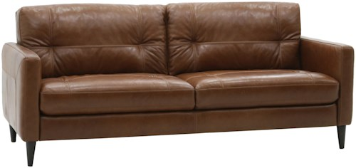 HTL 10585 Mid-Century Modern Sofa with Track Arms