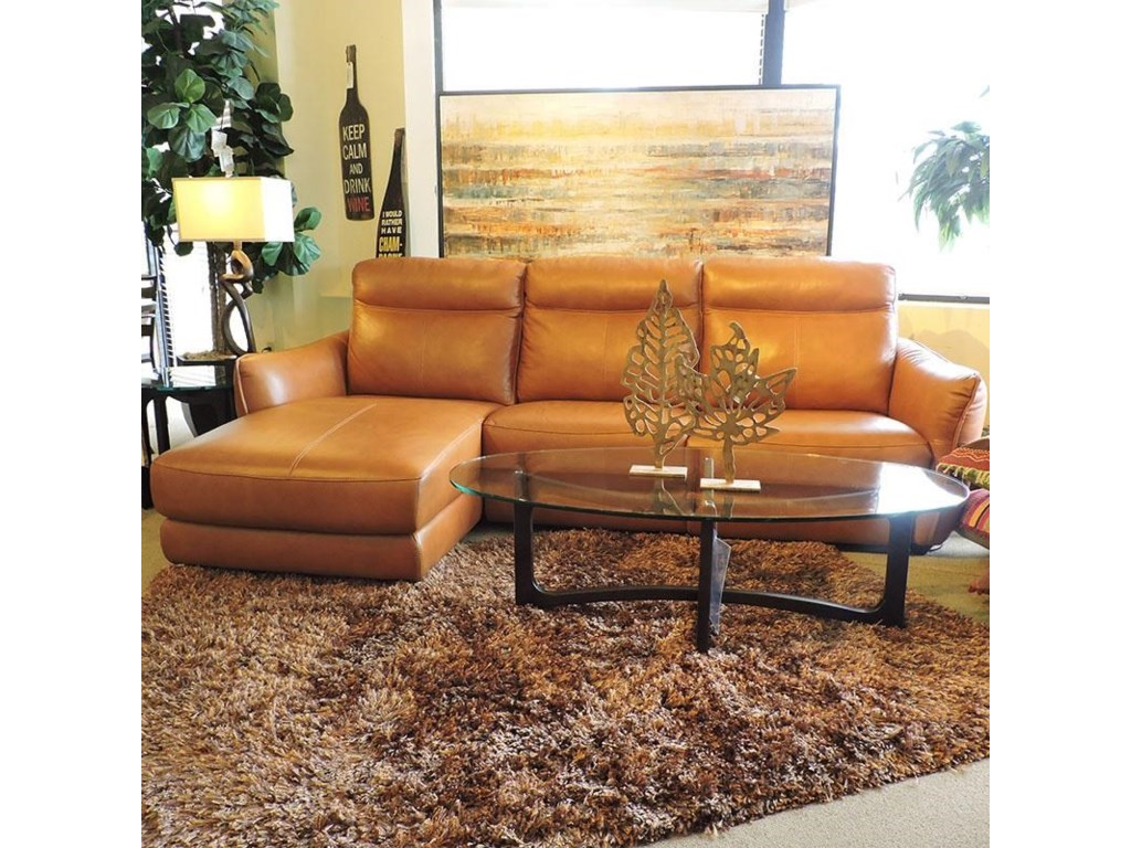 Belfort Select DavisPower Sectional with Chaise