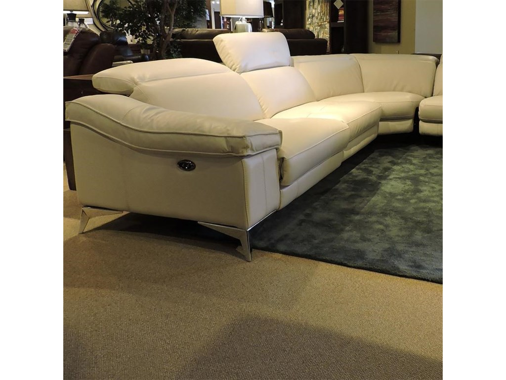 Belfort Select Cooper LeatherSectional Sofa