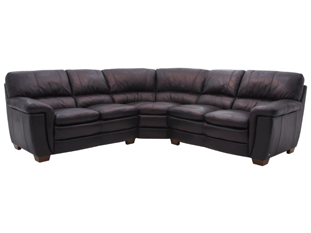 HTL 1116Leather Sectional