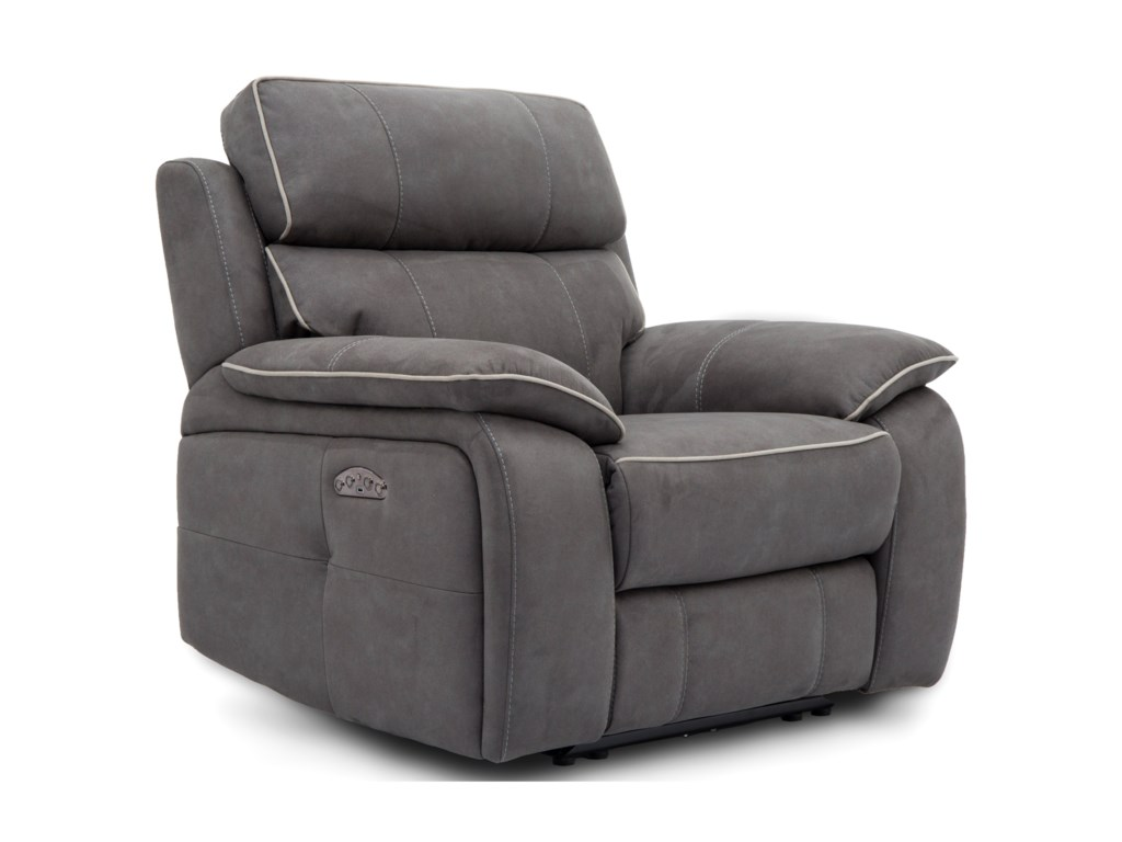 Warehouse M 11286Power Recliner with Power Headrest