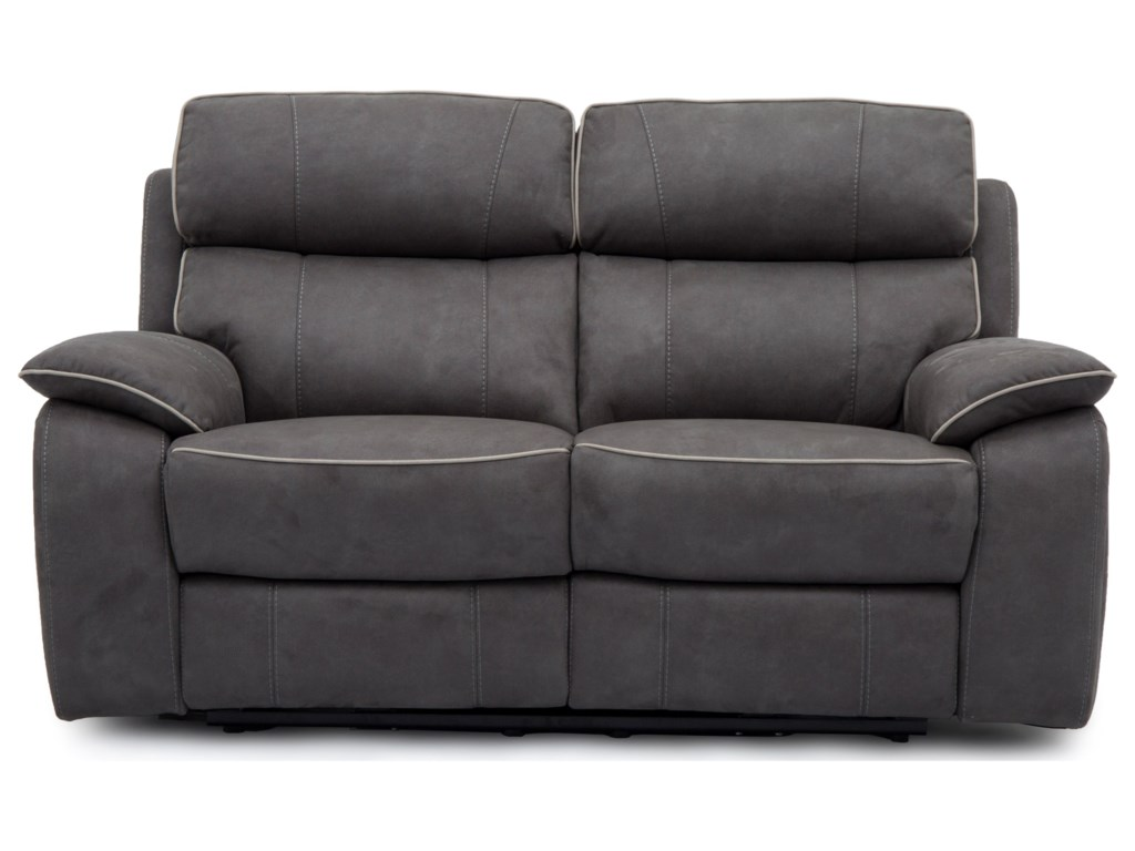 Warehouse M 11286Power Loveseat with Power Headrests
