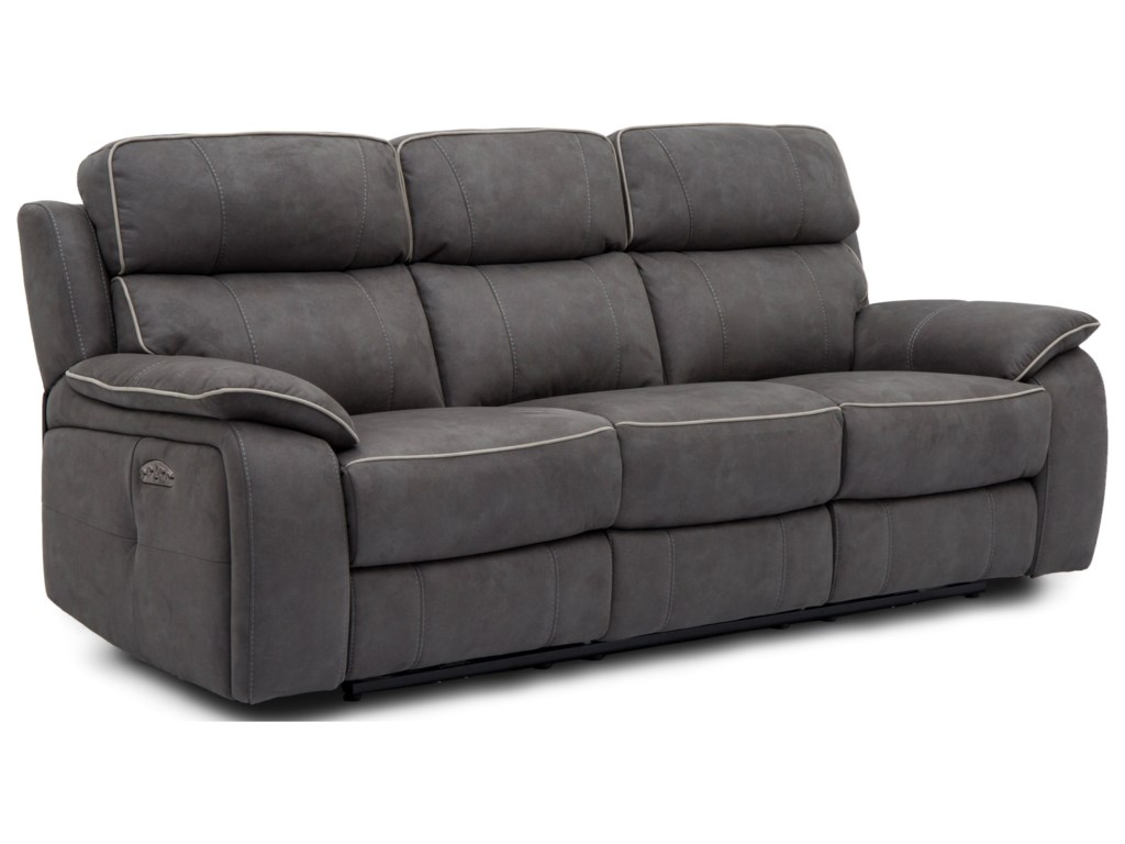 Warehouse M 11286Power Sofa with Power Headrests