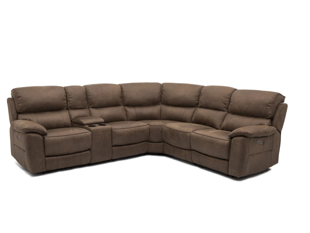 Warehouse M 11472Power Reclining Sectional