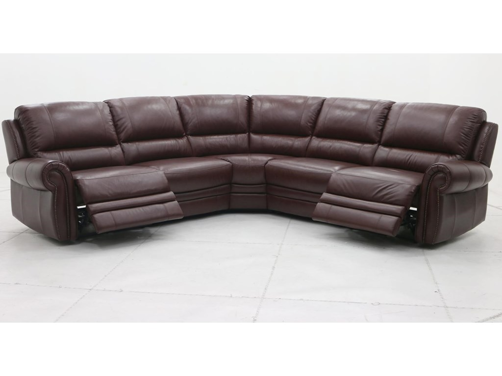 Belfort Select WilliamPower Reclining Sectional