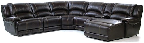 Giovani Bryant 6 Piece Reclining Sectional